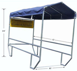 Grocery Shopping Cart Corral - #560-012