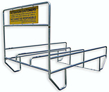 Grocery Shopping Cart Corral - #560-040