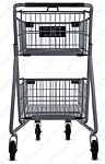 Express4545 Metal Grocery Shopping Cart