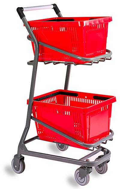 Metal Shelter Grocery Cart : Versacartsystems inc ezcart metal grocery shopping cart