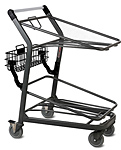 EZtote®450 Metal Stocking Cart for Plastic Totes