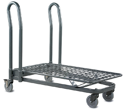 EZtote®7150 Metal Shopping Cart, Utility Cart & Stocking Cart