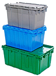 Plastic Storage and Stocking Totes